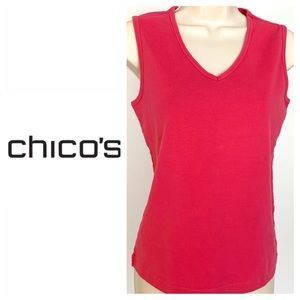 💚💚 CHICO'S Pink Top